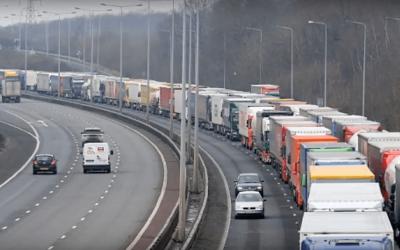 Calais este din nou un cosmar pentru transportatori