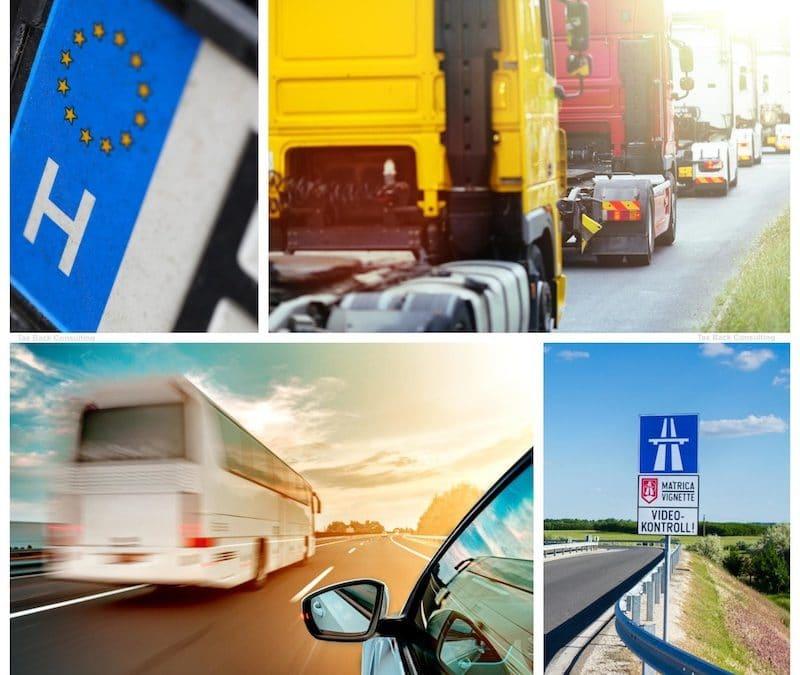 BIREG – Sistem preliminar de înregistrare a permiselor electronice în Ungaria de la 1 ianuarie 2021